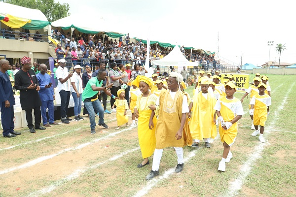 GHS akpe house Yellow