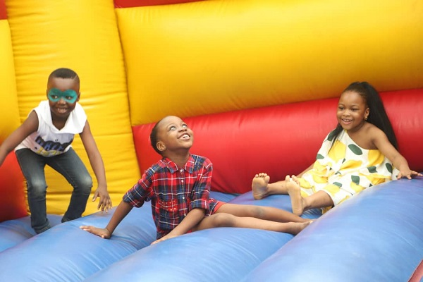 Greenhall Schools 2019 Christmas Party - Bouncing Castle