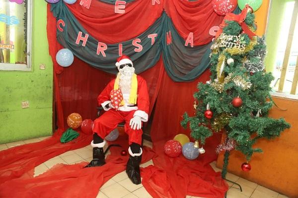 Greenhall Schools 2019 Christmas Party - Santa Claus
